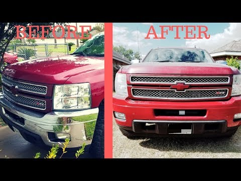 how-to-paint-over-chrome-bumpers