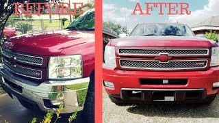 How To Paint Over Chrome Bumpers
