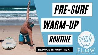 Surfing Warm-Up Routine