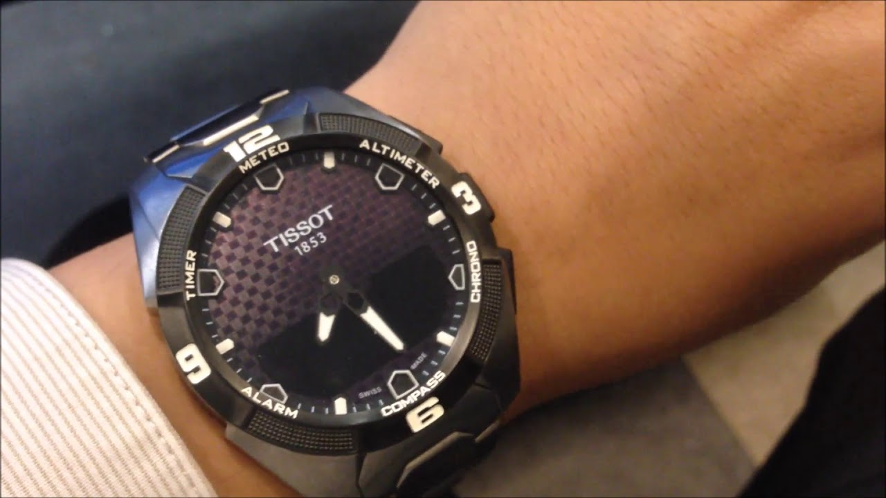 Short Review On The Tissot T Touch Expert Solar