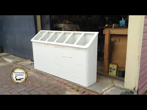 Woodworking : Space Saving Laundry Room Storage //How-To Par