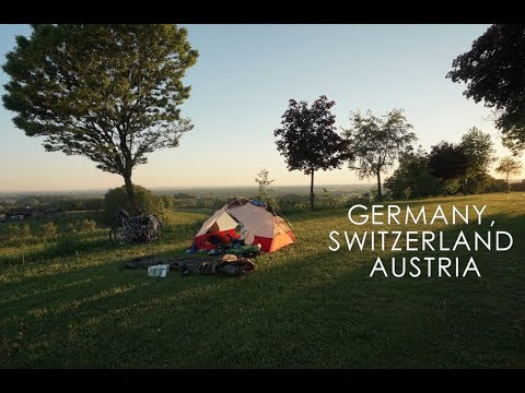River riding along the Eurovelo 6 || WO2W cycling in Germany, Switzerland & Austria (EP.2)