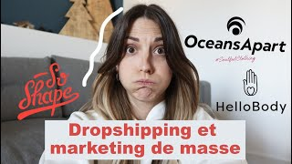 Dropshipping et marketing de masse : on en parle !