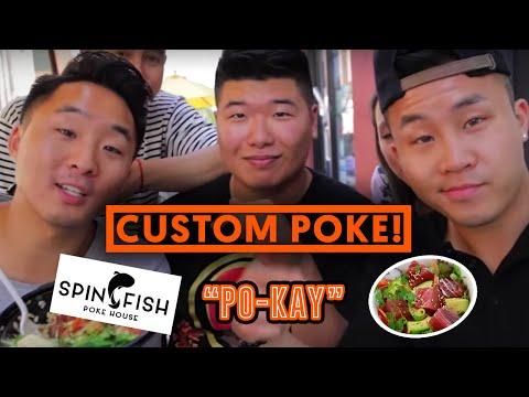 POKE FISH BOWLS - RAW FISH SALAD?! - Fung Bros Food