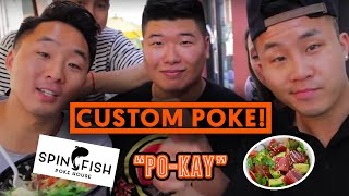 FUNG BROS FOOD: Poke - Fish Salad (Design Your Own Poke)