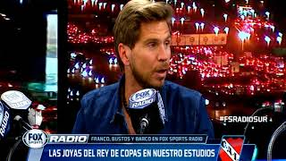 Franco, Bustos y Barco en Fox Sports Radio