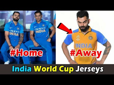 World Cup 2019 Home and Away Jersyes for All Team India , Pakistan , Bangladesh , Australia Mp3