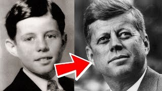 John F Kennedy from 1 to 46 years old