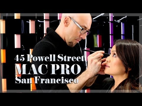 Tour & Makeover At New Flagship MAC Pro Store, 45 Powell Street In San Francisco