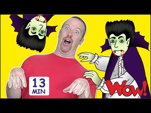 Halloween Songs and Stories for Kids from Steve and Maggie + MORE  Free Speaking Wow English TV