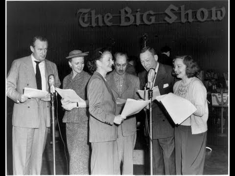 THE BIG SHOW 24 12 1950 with ROBERT MERRILL EDITH PIAF other