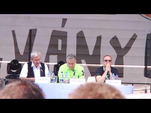 Orbán Viktor teljes 2017-es tusnádfürdői beszéde