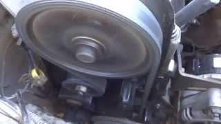 ВАЗ 2114 Работа двигателя без кожуха ГРМ