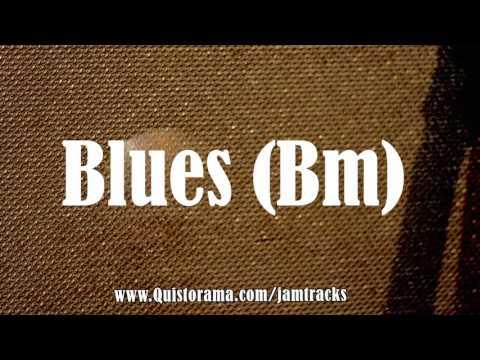 b minor blues backing track - quist