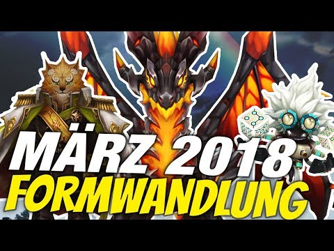 Neue Formwandlung von März 2018 ★ SUMMONERS WAR News (Deutsch/German)