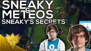 C9 Sneaky & Meteos - Sneaky's Secrets - Stream Highlights