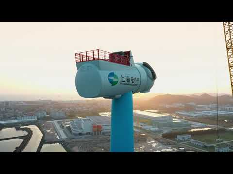 China's First 8MW Offshore Wind Turbine Enters Full Load Operation