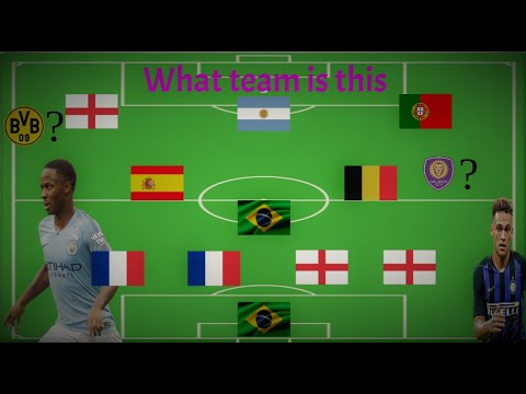 How much Soccer do you know Guess The Team 2019/2020 Lineups (part 1)