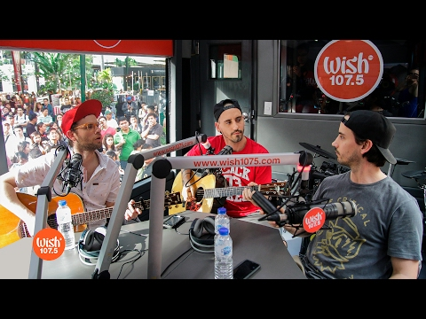 "The Moffatts perform ""I'll Be There For You"" LIVE on Wish 107.5 Bus"