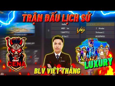🔴TRỰC TIẾP Việt Thắng | Trận Đấu Siêu Kinh Điển Giữa Team CENA Và LUXURY Cực Căng🏆