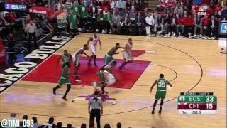 Boston Celtics Defensive Highlights vs Chicago Bulls (04/21/2017)