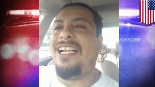 Police chase: Suspect streams his own high-speed police chase live on Facebook - TomoNews