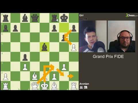 Aronian contre Giri au Grand Prix FIDE