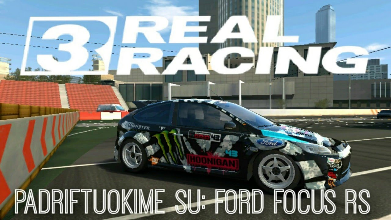 Real racing 3 drift 2 ford focus rs ken block replika
