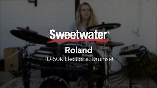 Roland TD-50K Electronic Drum Kit Demo