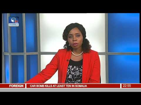 News@10: Nigeria Moves To Next Round Of AWCON With 4-0 Bashing Of Kenya 26/11/16 Pt 4