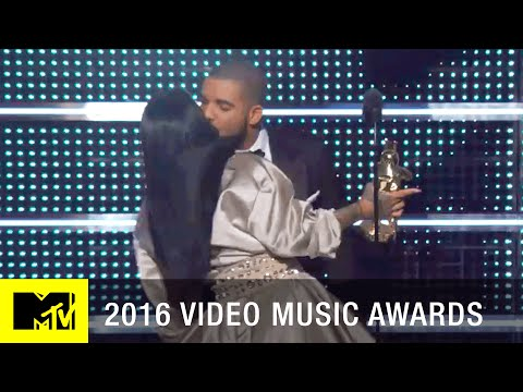 Rihanna & Drake: The Kiss | 2016 Video Music Awards | MTV