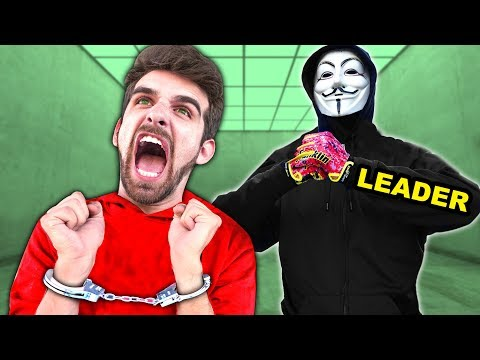 DANIEL ARRESTED by HACKERS & REVEALED AS SPY NINJA - PZ9 REJOINS PROJECT ZORGO for 24 Hour Challenge