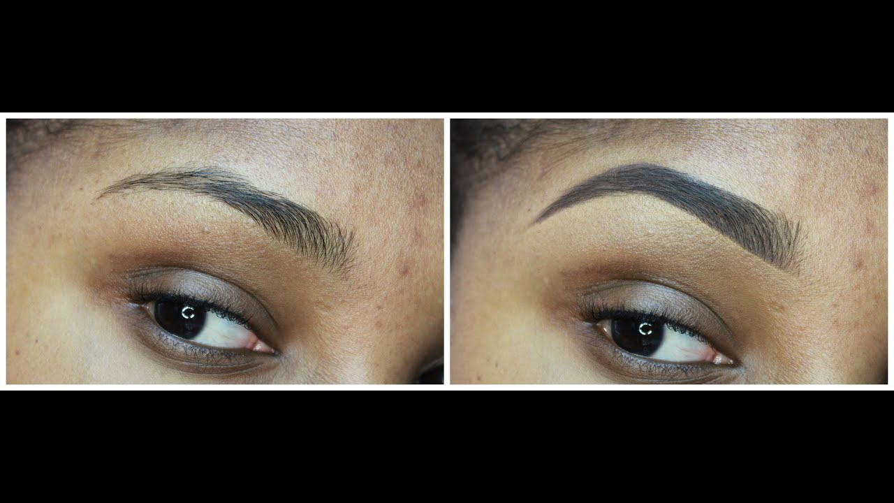 How to anastasia beverly hills dip brow pomade dark brown how to anastasia beverly hills dip brow pomade dark brown sharpnatural looking brow tutorial youtube baditri Images