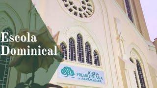 Escola Dominical - Obediência a Deus: expressão de amor. 03/10/2021