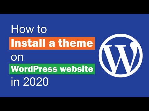 How To Install A Theme On WordPress Website In 2019 From WP Dashboard | Just Genius - JG 15