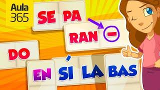 cómo separar en sílabas videos educativos para niños
