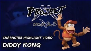 project m demo 2 5 roster reveal diddy kong