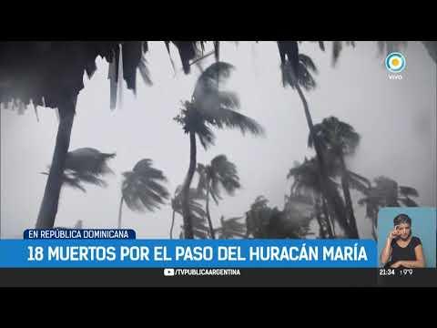 El paso del huracán