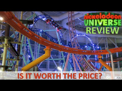 Nickelodeon Universe (NJ) Review, American Dream | Is This New Theme Park Worth The Price?