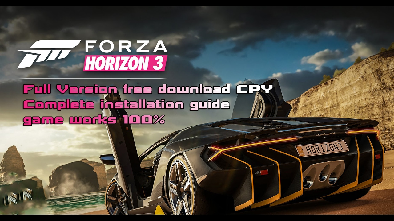 how to download forza horizon 3 pc game cpy full youtube. Black Bedroom Furniture Sets. Home Design Ideas