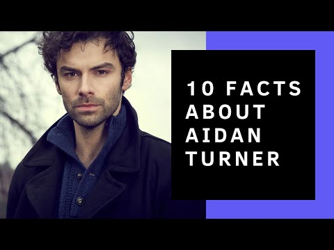 Aidan Turner // 10 Facts You Didn't Know About Him
