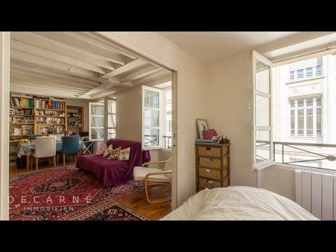 Visite privée d'un 2p à vendre Paris 75006 Cherche midi