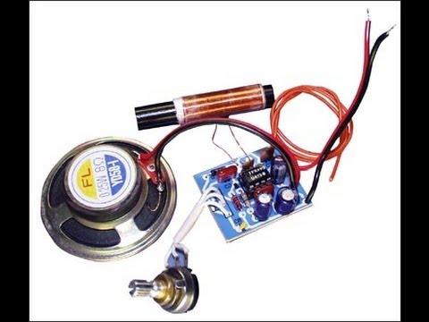 Схема радиоприёмника (Транзистор это просто 40)
