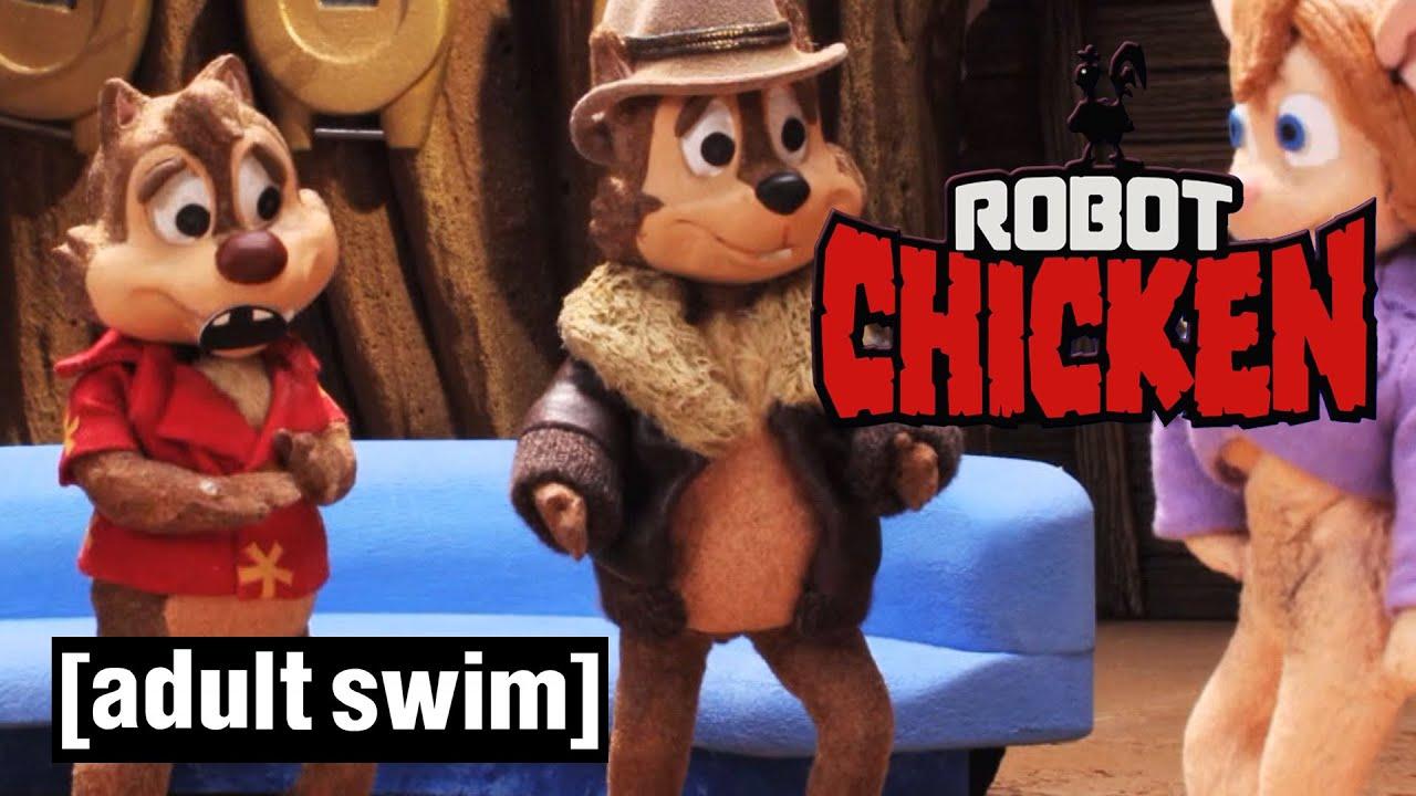 Robot Chicken | X-Rated Rescue Rangers | Adult Swim UK 🇬🇧