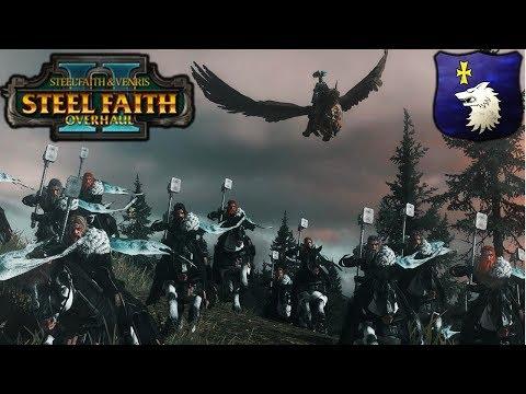 FURY OF THE WHITE WOLF - SFO Middenland vs. Dark Elves - Total War Warhammer 2 Gameplay