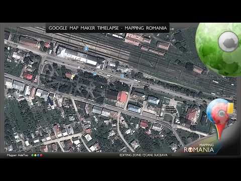 Google Map Maker - Editing time lapse