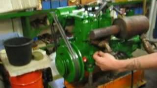 Testlauf GÖTA Motor 10PS Zweitakt Schiffsmotor