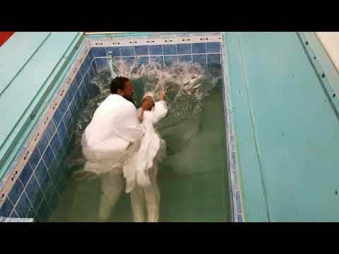 Shaniqua Hall And Her Household Is Baptized In Jesus Name! According To Acts 2:38!!! HALLELUJAH!!