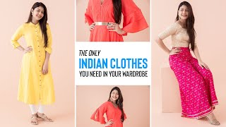 The Only Indian Clothes You Ne…