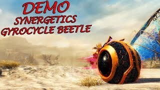 Guild Wars 2 - Synergetics Gyrocycle Roller Beetle Demo